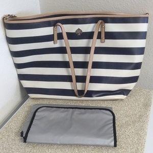 Kate Spade NY Genuine Leather Diaper Bag